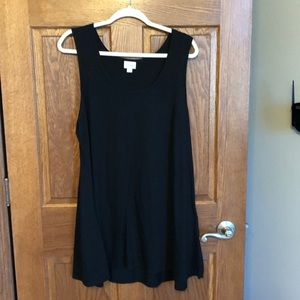 Lularoe Solid Black Perfect Tank NWOT